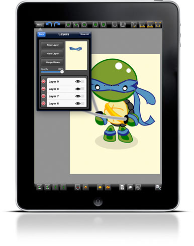 ipad & iphone vector graphics app