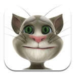 the funniest iPhone & Android app. It's called Talking Tom Cat